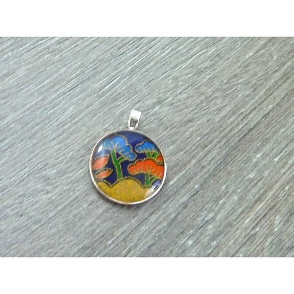 Jewelry sterling silver japanese pendant poshmark m5ab8519836b9de24130781f6 aloadofball Image collections